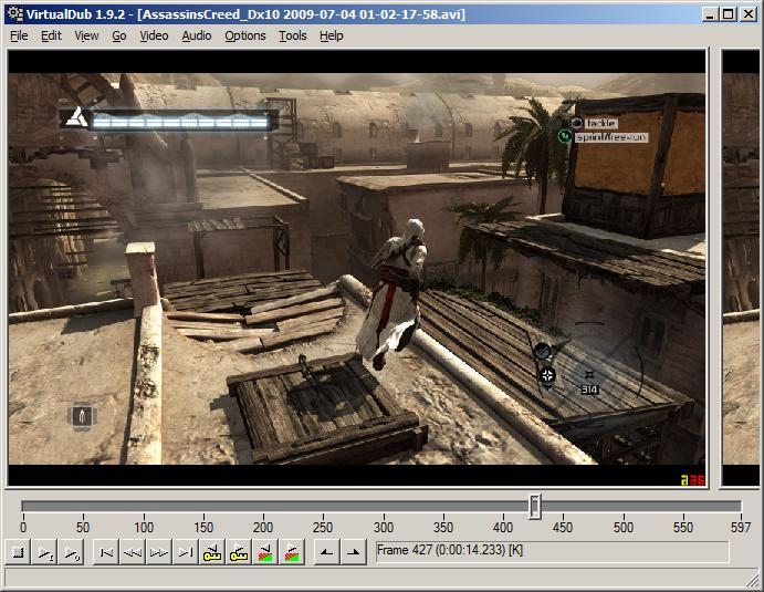 Virtualdub tutorial: editing videos and adding filters.