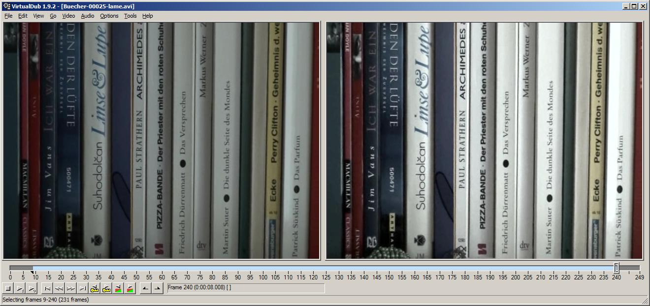 Virtualdub and deshaker tutorial youtube.