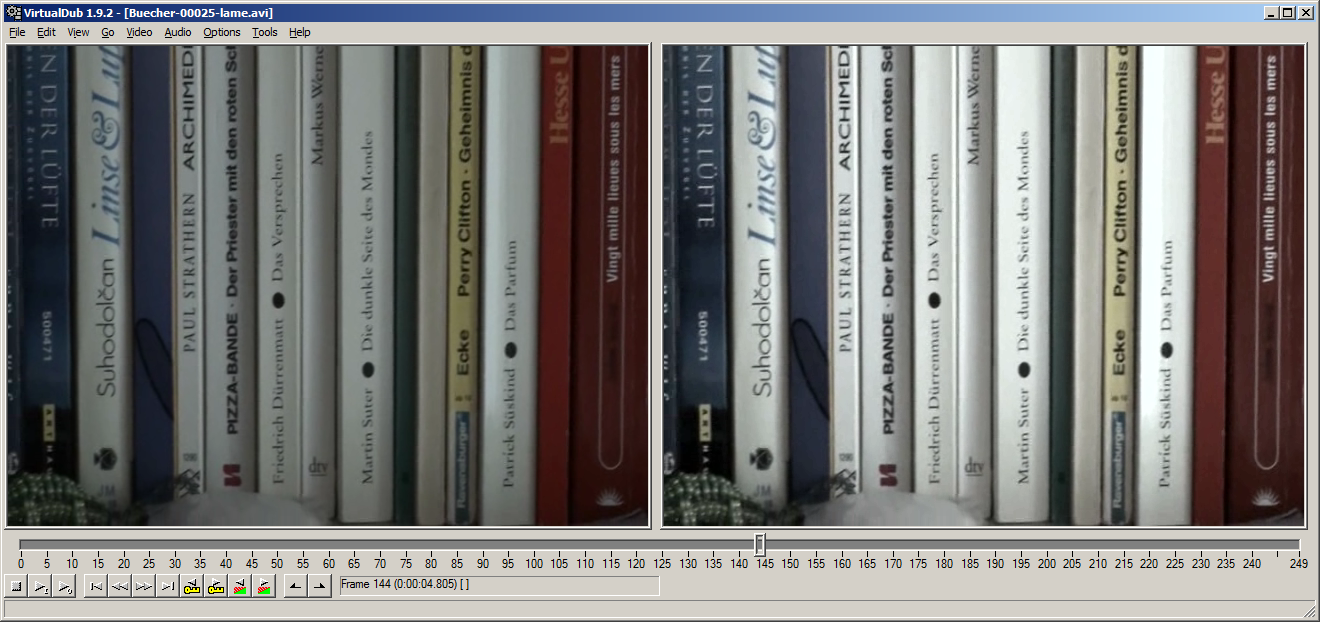 Virtualdub tutorial: installing virtualdub and xvid/lame codecs.